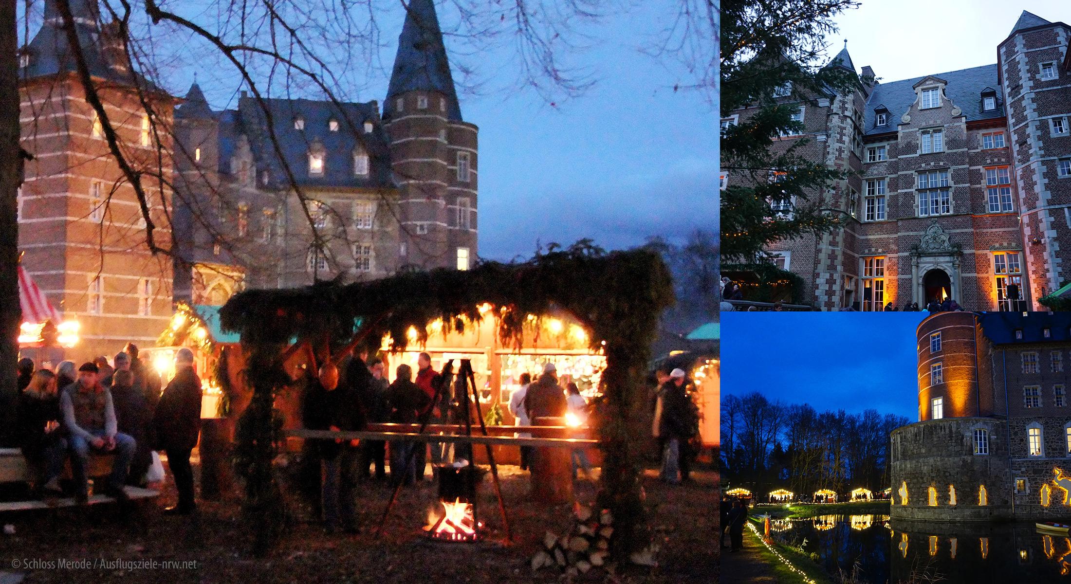 Weihnachtsmarkt Schloss Merode.Bezaubernder Weihnachtsmarkt Auf Schloss Merode
